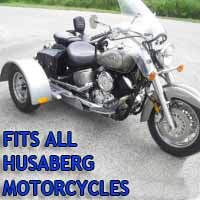 Husaberg Motorcycle Trike Kit - Fits All Models