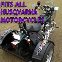 Husqvarna Motorcycle Trike Kit - Fits All Models
