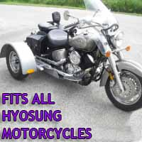Hyosung Motorcycle Trike Kit - Fits All Models