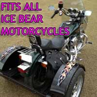 Ice Bear Motorcycle Trike Kit - Fits All Models