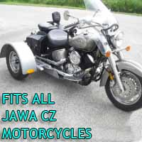Jawa Cz Motorcycle Trike Kit - Fits All Models