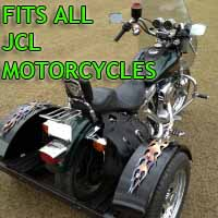 JCL Motorcycle Trike Kit - Fits All Models