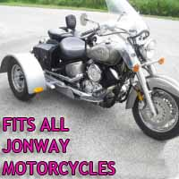 Jonway Motorcycle Trike Kit - Fits All Models