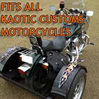 Kaotic Customs Motorcycle Trike Kit - Fits All Models