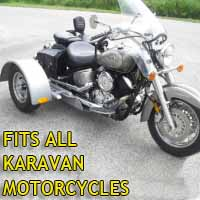 Karavan Motorcycle Trike Kit - Fits All Models