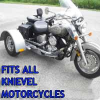 Knievel Motorcycle Trike Kit - Fits All Models
