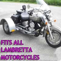 Lambretta Motorcycle Trike Kit - Fits All Models