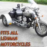 Lehman Motorcycle Trike Kit - Fits All Models