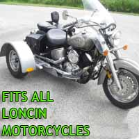 Loncin Motorcycle Trike Kit - Fits All Models