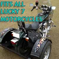 Lucky 7 Motorcycle Trike Kit - Fits All Models