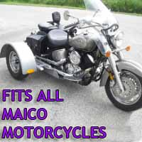 Maico Motorcycle Trike Kit - Fits All Models