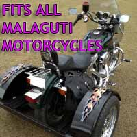 Malaguti Motorcycle Trike Kit - Fits All Models