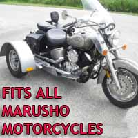 Marusho Motorcycle Trike Kit - Fits All Models