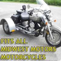 Midwest Motors Motorcycle Trike Kit - Fits All Models