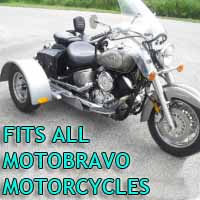 Motobravo Motorcycle Trike Kit - Fits All Models