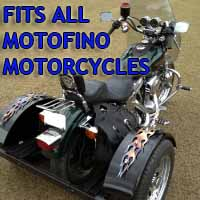 Motofino Motorcycle Trike Kit - Fits All Models