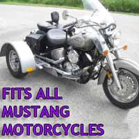 Mustang Motorcycle Trike Kit - Fits All Models