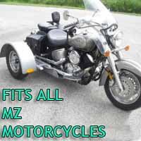 Mz Motorcycle Trike Kit - Fits All Models