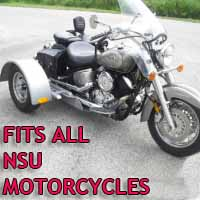 NSU Motorcycle Trike Kit - Fits All Models