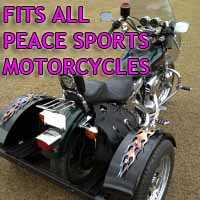 Peace Sports Motorcycle Trike Kit - Fits All Models