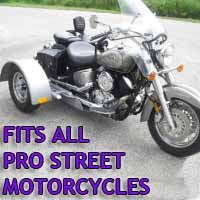 Pro Street Motorcycle Trike Kit - Fits All Models