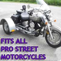 Pro Street Motorcycle Trike Kit - Fits All Models