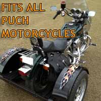 Puch Motorcycle Trike Kit - Fits All Models