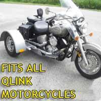 Qlink Motorcycle Trike Kit - Fits All Models