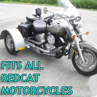 Redcat Motorcycle Trike Kit - Fits All Models