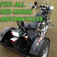 Red Horse Motorcycle Trike Kit - Fits All Models