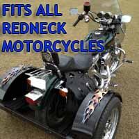 Redneck Motorcycle Trike Kit - Fits All Models