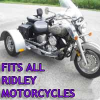 Ridley Motorcycle Trike Kit - Fits All Models