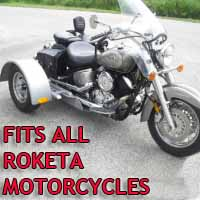 Roketa Motorcycle Trike Kit - Fits All Models