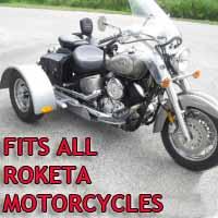 Roketa Motorcycle Trike Kit - Fits All Models