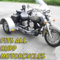 Rupp Motorcycle Trike Kit - Fits All Models