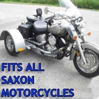 Saxon Motorcycle Trike Kit - Fits All Models
