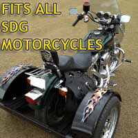 SDG Motorcycle Trike Kit - Fits All Models