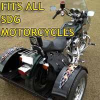 SDG Motorcycle Trike Kit - Fits All Models