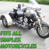 Simplex Motorcycle Trike Kit - Fits All Models