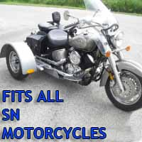 Sn Motorcycle Trike Kit - Fits All Models