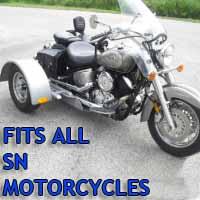 Sn Motorcycle Trike Kit - Fits All Models