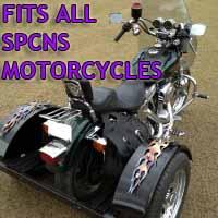 Spcns Motorcycle Trike Kit - Fits All Models