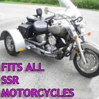 SSR Motorcycle Trike Kit - Fits All Models