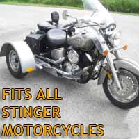 Stinger Motorcycle Trike Kit - Fits All Models