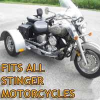 Stinger Motorcycle Trike Kit - Fits All Models