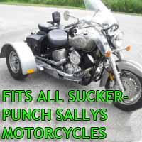 Suckerpunch Sallys Motorcycle Trike Kit - Fits All Models