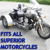 Superior Motorcycle Trike Kit - Fits All Models
