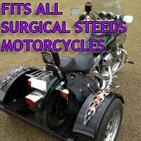 Surgical Steeds Motorcycle Trike Kit - Fits All Models