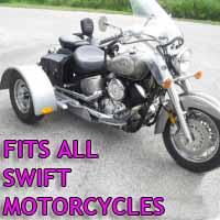 Swift Motorcycle Trike Kit - Fits All Models