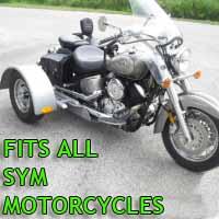 SYM Motorcycle Trike Kit - Fits All Models
